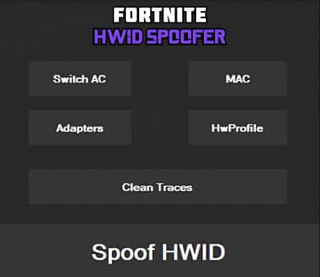 free Fortnite HWID spoofer for undetected ban bypass